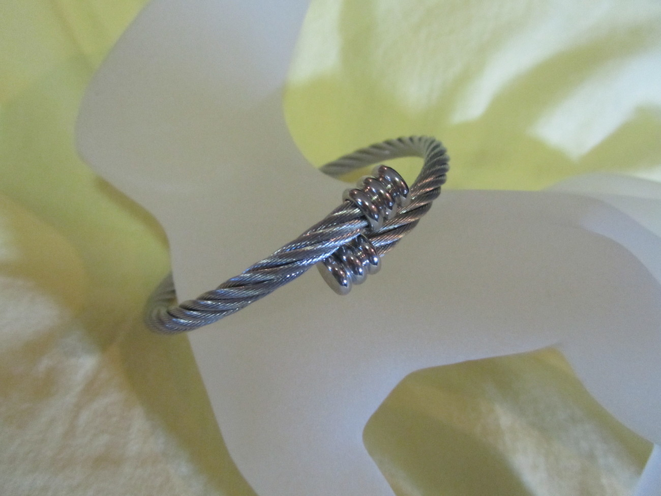 Cable Steel Wire BRACELET Designer Inspired REALLY