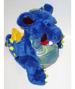 Ganz Fantasy Friends Dragon Hand Puppet Blue Pl... - $9.99