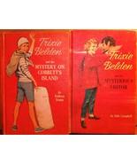 Trixie Belden Deluxe Hardbacks Mysterious Visit... - $5.49