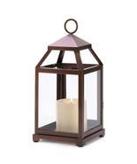 Bronze Contemporary Lantern - $25.00