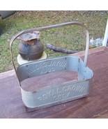 Antique ROYAL CROWN  Metal Bottle Carrier / Hol... - $65.00