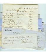 LOT 19th Century Lowell, Mass. James Buck Recei... - $35.00