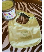 Paint Rags, Loves The Limelight Baby Bib by Dep... - $6.00