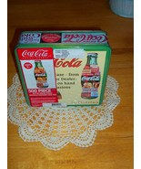 1990's COCA-COLA Bottle Shaped Puzzle in a Seal... - $16.99