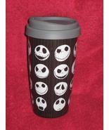 DISNEY STORE Nightmare before Christmas JACK Travel Tumbler Coffee Cup / Mug - $19.99