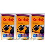 3 Kodak HD Power Flash Single Use Cameras 39 Ex... - $34.00
