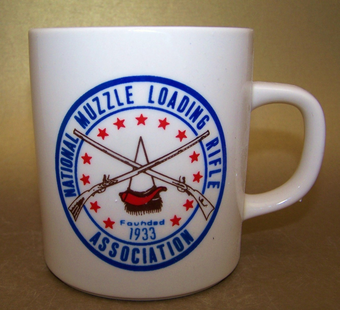 National Muzzle Loading Rifle Association Ceramic Mug
