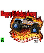 Hot Wheels  Custom Cake  Frosting Sheet - $7.99