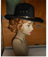 Boys black cowboy hat country boy kids rodeo Co... - $20.00