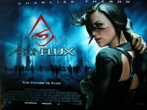 Aeonflux-Charlize Theron (VHS video tape Hi-Fi w/dolby) NEW