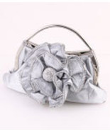 HB2031-SIL Silver Evening Bag   - $25.00