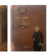 1893 Life & Work of JAMES G. BLAINE Memorial Ed... - $12.00