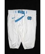 UNC TARHEEL GAME USED FOOTBALL PANTS WHITE Siz... - $29.00