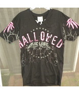 Mans T Shirt Blac Label Large Gothic Hallowed B... - $10.00