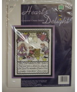 Hearts Delight Counted Cross Stitch Kit Lifes L... - $9.00