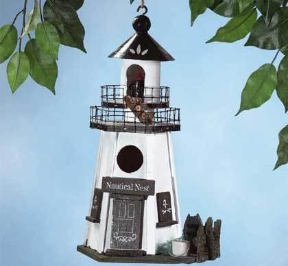 Image 1 of Nautical Nest Birdhouse