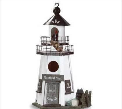 Image 2 of Nautical Nest Birdhouse