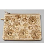 Chico's Gold Charming Gift Clutch NEW - $10.00