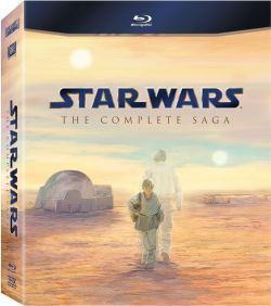 Star Wars: The Complete Saga Blu-ray Disc NEW  I-VI