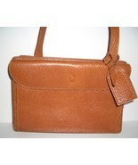 Vintage Ralph Lauren Tan Pebble Leather  Handba... - $65.00