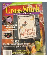 Cross Stitch & NeedleWork Oct 1998 - Halloween - $3.75