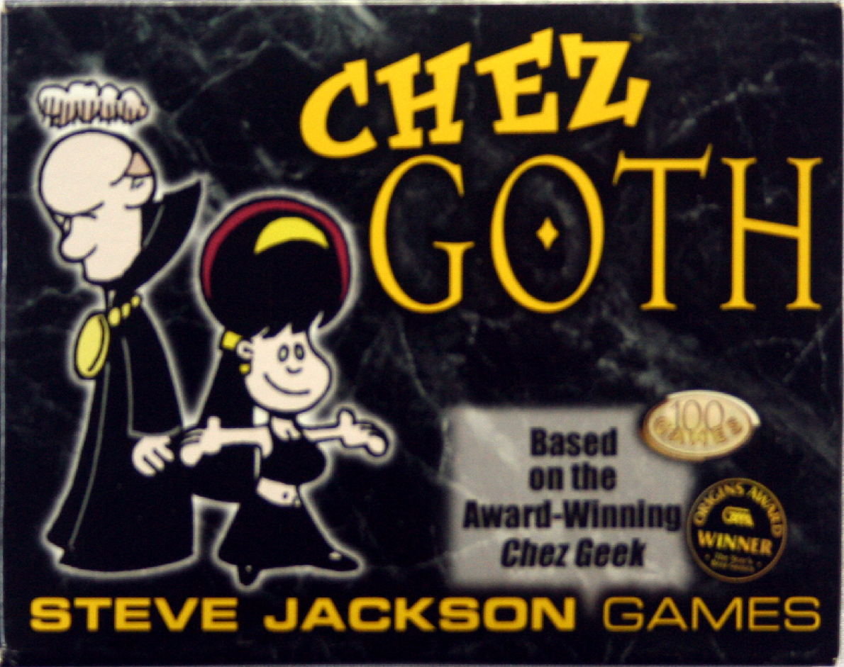 CHEZ GOTH Card Game for Dark Souls MINT OOP!