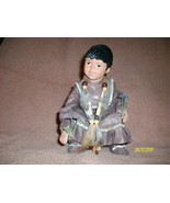 Yoki Indian Baby Table Figurine - $24.85