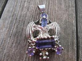 VintageTaxco Mexico sterling silver amethyst Pe... - $150.00