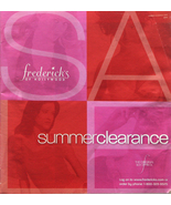 2004 Frederick's of Hollywood Catalog - $3.00