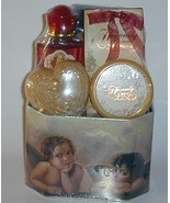 Heavenly Angel Floral Bath Gift Set Tin Gel Sou... - $9.00
