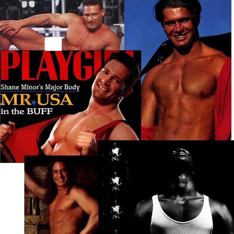 PLAYGIRL 7-94 KEN WAHL MR UNIVERSE NUDE DOUG STONE CHAD