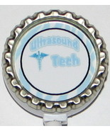 Ultrasound Tech ID badge holder w retractable reel 6