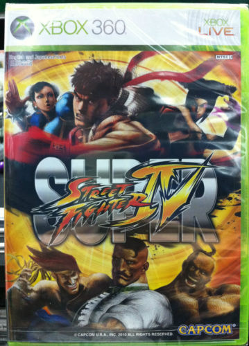 Super Street Fighter IV {4}, xbox 360 game
