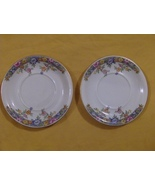 2 Saucers Hutschenreuther Selb Bavaria Germany ... - $6.99