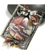 On the Gallery Wall Necklace - Jasper  and Ster... - $235.00