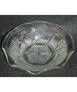Jeannette Glass Iris and Herringbone 5 in Bowl