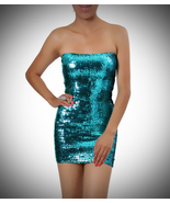 Turqoise Sequin Dress - $35.99