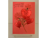 Buy Vintage Valentines Day Card for Wife Unsigned Envelope