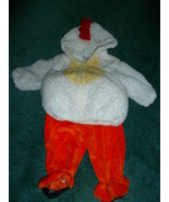 2 PC CHILD ROOSTER HALLOWEEN COSTUME SIZE 3 - 6... - $15.00