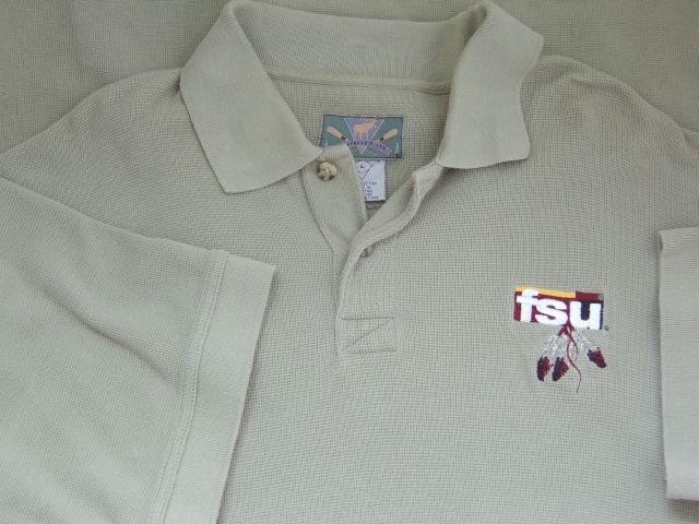 CHEYENNE RIVER FSU Florida State University Polo Shirt