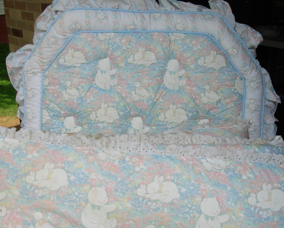Buy nursery - Baby Nursery Bedding Crib Bumper Pads Sheets Diaper Stacker