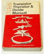 RCA Transistor Thyristor and Diode Manual Techn... - $6.00