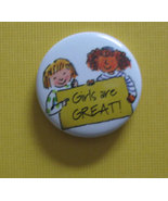 Amercan Girl Grin Pin #204 Girls Are Great AG p... - $0.99