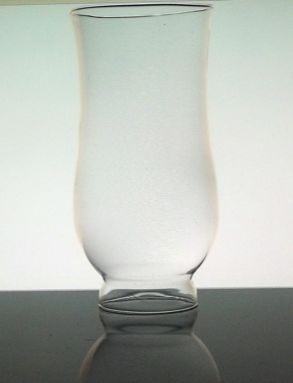 Glass Hurricane Shade 2 1/8 inch fitter x 7 7/8 x 3.75