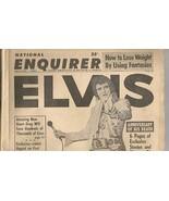 EVIS PRESLEY NATIONAL ENQUIRER 1st ANNIVERSARY ... - $9.00