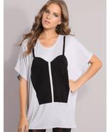 $149 Natalie Encarnita Color blocked Bustier Co... - $48.00