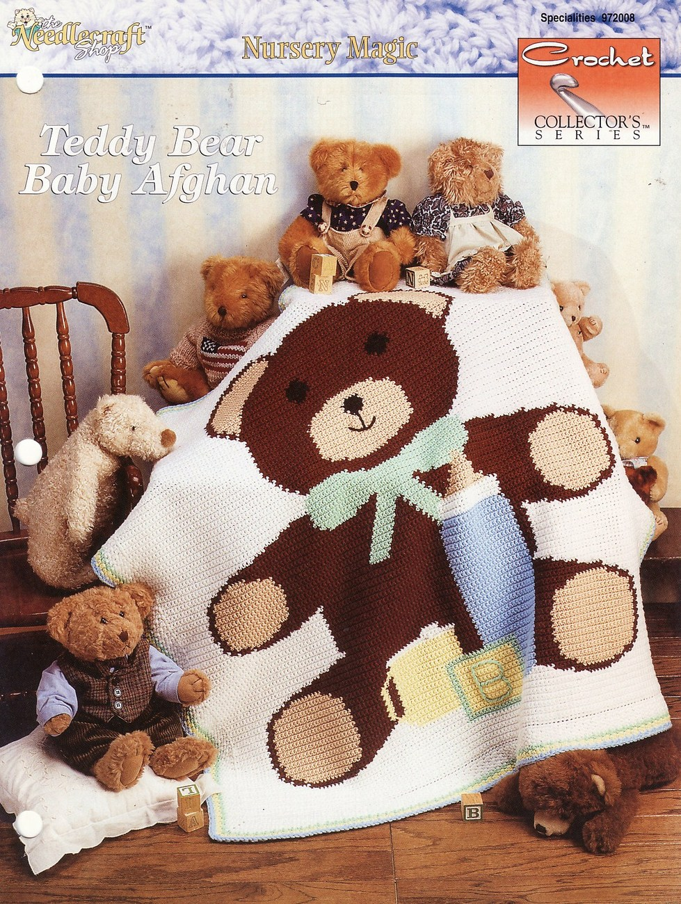 Free Teddy Bear Crochet Afghan Pattern : Teddy Bear Baby Afghan Crochet Pattern Blanket Infants ...