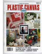 Leisure Arts Plastic Canvas Mag.Feb.91~27 projects - $3.50