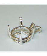 10mm Round Prenotched Sterling Silver Pendant S... - $4.69