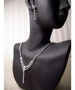 GENUINE AUSTRIAN CRYSTAL JEWELRY SET Necklace &... - $12.00